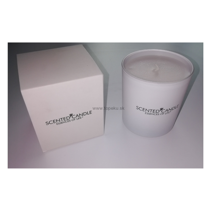 Scented Candle White Satine 185g
