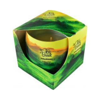 Admit Vonná sviečka  Tea break 100g  Akcia -20%